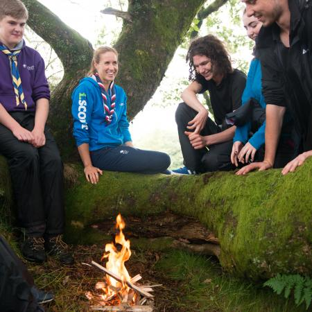 Scouts and Explorers with Helen Glover